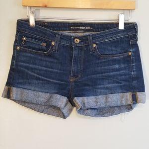 Big Star • Alex Mid Rise Denim Shorts